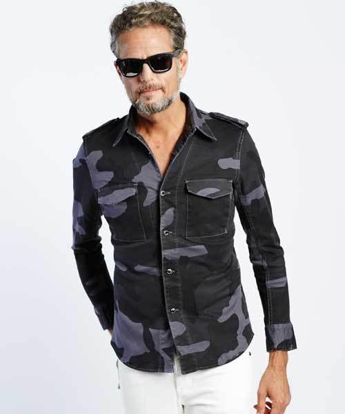 【メール便無料】 original ウノ big camo army shirt [roppongihills piu store big limited] (シャツ/ブラウス)|1 piu 1 uguale 3(ウノピゥウノウグァーレトレ)のファッション通販, 丸島商事 インターネット事業部:e64e7426 --- munich-airport-memories.de