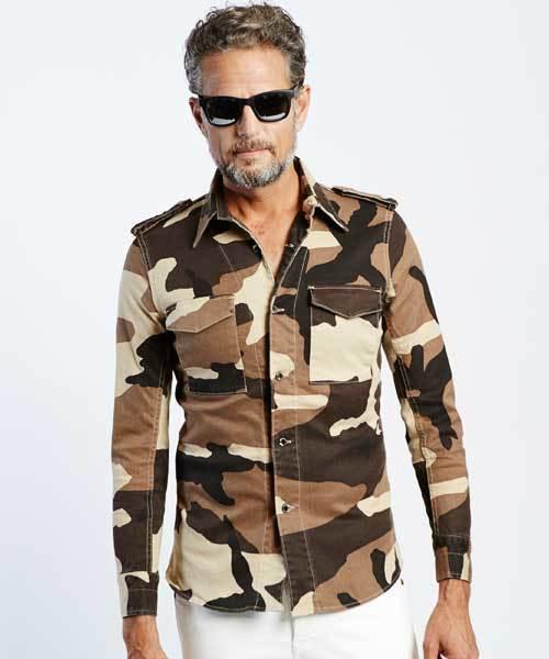 【楽天カード分割】 original big camo army store shirt [roppongihills uguale store limited] (シャツ トレ,original/ブラウス) 1 piu 1 uguale 3(ウノピゥウノウグァーレトレ)のファッション通販, 輸入雑貨アルファエスパス:6d60beb1 --- munich-airport-memories.de