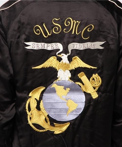 【HOUSTON】スーベニアジャケット/USMC