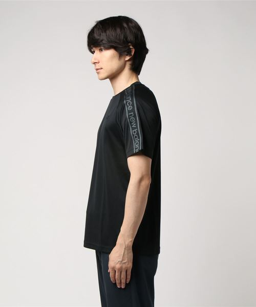 New Balance ニューバランス M T360 SSTシャツ JMTP8600BK ブラック