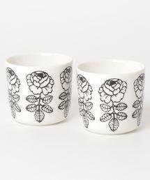 marimekko(マリメッコ)の【JAPAN EXCLUSIVE】VIHKIRUUSU / COFFEE CUP 2PCS WITHOUT(グラス/マグカップ/タンブラー)