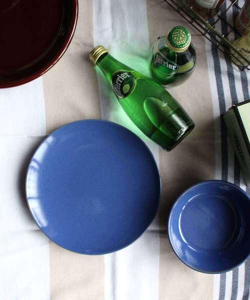 陶器(平皿・青)