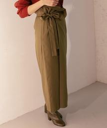 KBF(ケイビーエフ)のWEB限定 サイドリボンロングスカート(スカート)