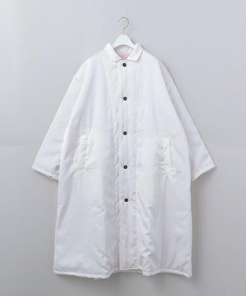 <Yarmo × 6(ROKU)>QUILTED LAB COAT/コート Ψ