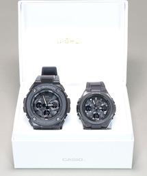 Gショック × ベビーG ペアモデル G-SHOCK × BABY-G Pair Model / G-STEEL&G-MS GST-W300G-1A1JF × MSG-W100G-1AJF(腕時計)
