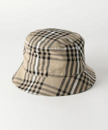 <monkey time> CHECK BUCKET HAT/バケットハット
