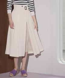 Andemiu(アンデミュウ)のチュールレイヤードスカート829381(スカート)