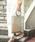 Casselini(キャセリーニ)の「【WEB限定】【Casselini】チュールスター刺繍トートバッグ(トートバッグ)」 ゴールド