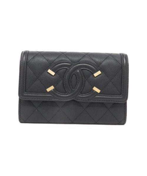 3b15a6b6d3cb ブランド古着】2つ折り財布(財布)|CHANEL(シャネル)のファッション ...