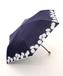 Cocoonist(コクーニスト)のフラワー柄晴雨兼用折りたたみ傘 日傘(折りたたみ傘)