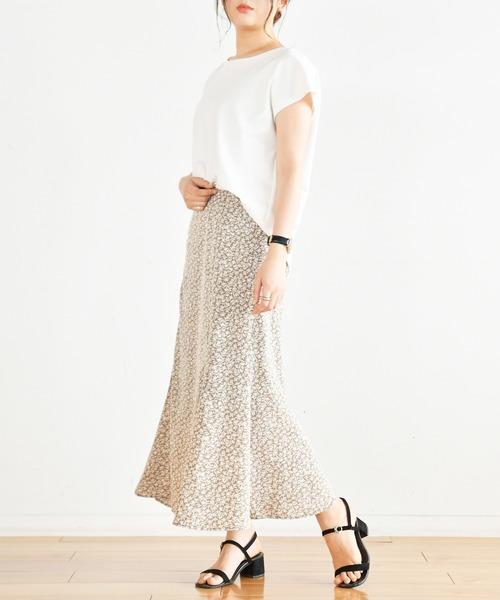 Ambre Neige(アンブルネージュ)の「マーメイドスカート/【WEB/EC限定商品】(スカート)」|カーキ