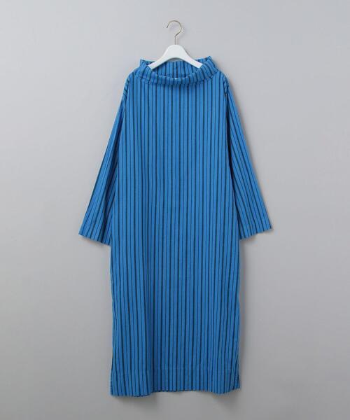 <YARMO>HIGH  STAND COLLAR DRESS/ワンピース Ψ