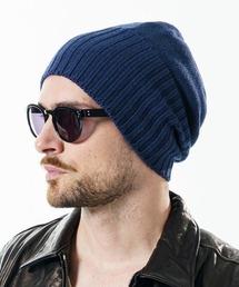 wjk(ダヴルジェイケイ)のmko9786-2-way knit cap ニット帽(ニットキャップ/ビーニー)