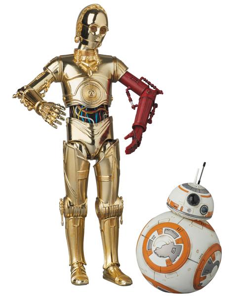 MAFEX C-3PO(TM) & BB-8(TM) SET 『スター·ウォーズ/フォースの覚醒』より