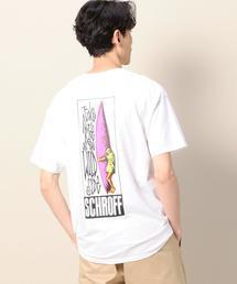 【別注】 <SCHROFF> SS PRINT TEE 2/Tシャツ ◆