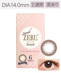 ZERU(ゼル)の「ゼル ツーウィーク 6枚 ブラウン(コンタクトレンズ)」