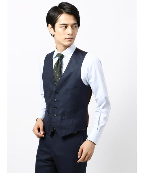 【blazer's bank.com】ウーステッドウールジレ≪Fabric by MOON≫