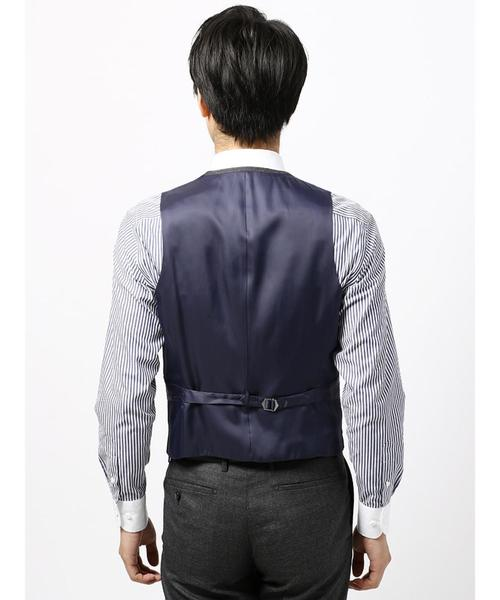 【blazer's bank.com】ウーステッドウールジレ≪Fabric by MOON≫