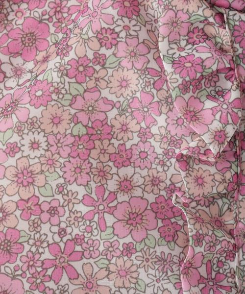 【160cmまで】ガールズ花柄ブルゾン