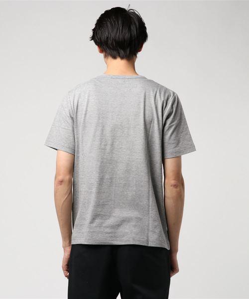 マイクロボーダーポケットTシャツ