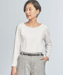 【WORK TRIP OUTFITS】★WTO D スムース Uネック ロングスリーブ