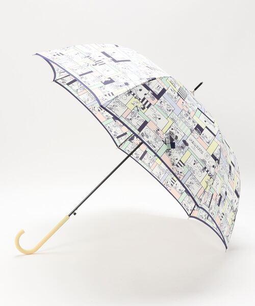 【 PEANUS / ピーナッツ 】60㎝傘 長傘 ジャンプ式 雨晴兼用長傘 OGW