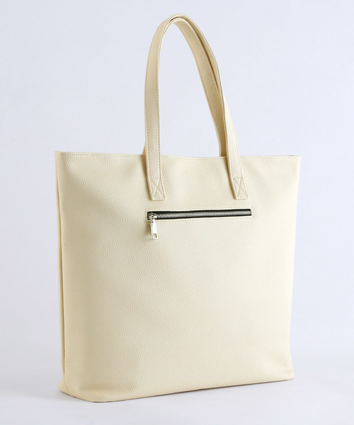 BASIC NEOLEATHER  TOTEBAG/PVCレザートートバッグ