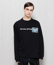 <TODAY edition>ARE YOU OFF TODAY? POCKET PHOTO LONG SLEEVE T-SHIRT/Tシャツ.