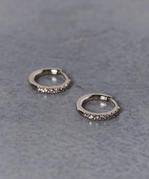 <BROWN DIAMOND(ブラウン ダイヤモンド)> BL004 ピアス ■■■▲