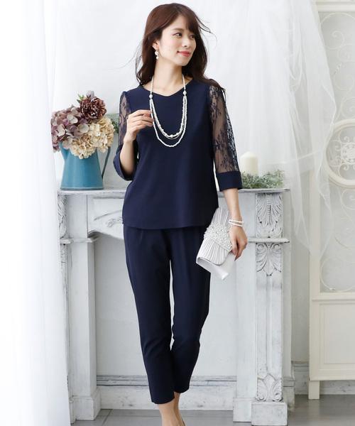 超熱 スリムレースパンツドレス(パンツ)|PourVous(プールヴー)のファッション通販, オオガキシ:cf5d7426 --- 5613dcaibao.eu.org