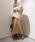 DouDou(ドゥドゥ)の「プリーツサテンスカート(スカート)」|詳細画像