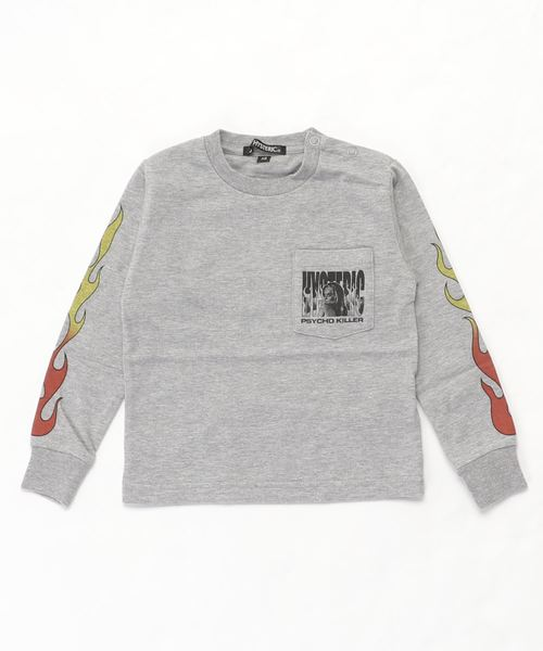 PSYCHO KILLER pt リブ付Tシャツ【XS/S/M】
