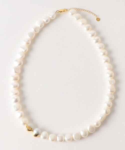 <Preek>BAROQUE PEARL NECKLACE 42/ネックレス