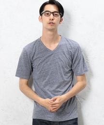 BC★★TRIBLEND Vネック S/SL Tシャツ◆