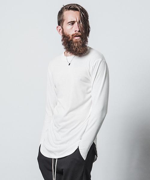 CHORD NUMBER EIGHT(コードナンバーエイト)の「LONG CUTSEW(Tシャツ/カットソー)」|ホワイト