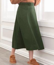 Nina(ニーナ)のベルト付きAラインフレアスカート(スカート)