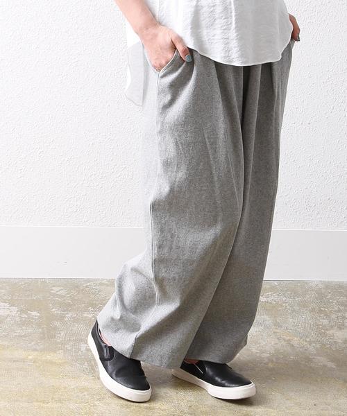 【WEB限定復刻】カットタックワイドパンツ