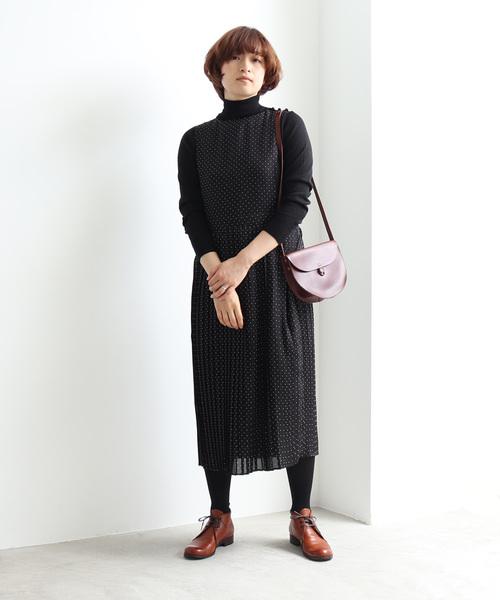 正規代理店 シャークスキン ドットプリーツジャンパースカート(ジャンパースカート) yuni,ユニ,bulle yuni(ユニ de )のファッション通販, サイクルワークスオオタキ:de9943d2 --- skoda-tmn.ru