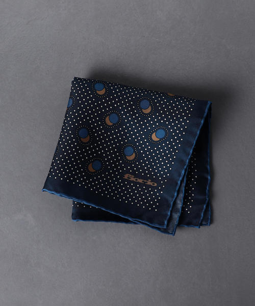 <FIORIO(フィオリオ)>ドット ポケットチーフ