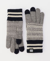 EVOLG(エヴォログ)の【EVOLG/エヴォログ】 BON ニットグローブ(LET 2375)(手袋)