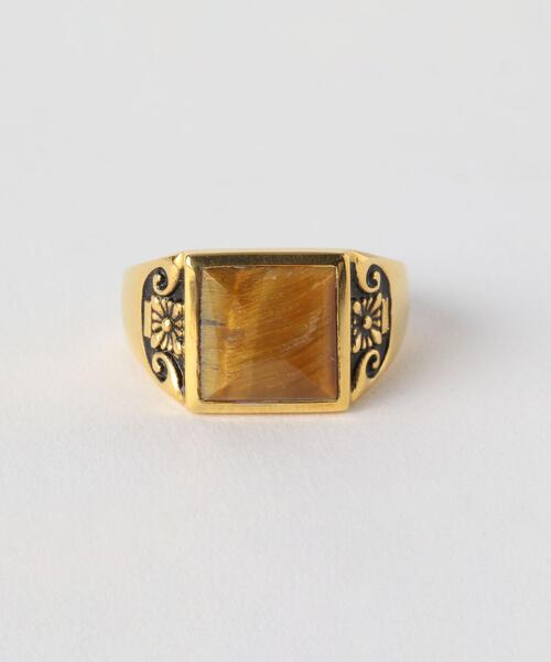 <MAPLE> COLLEGEATE RING/G/リング