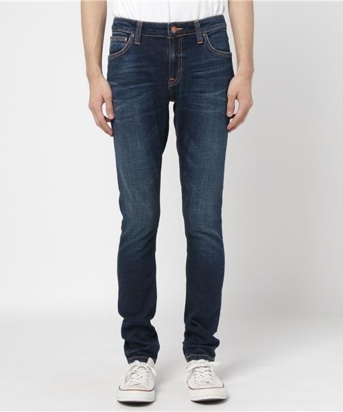 【激安アウトレット!】 【セール/】SKINNY Dark LIN/ Dark Blue Authentic(デニムパンツ)|Nudie Blue Jeans(ヌーディージーンズ)のファッション通販, VIAJERO 本店:1e5beb5c --- fahrservice-fischer.de