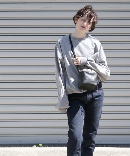 【Sinfu/シンフ】fakeleather cube mini shoulder/フェイクレザーキューブミニショルダー