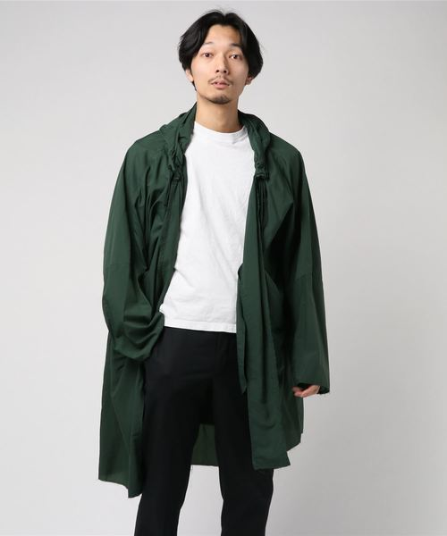 N.HOOLYWOOD SPRING & SUMMER 2019 COLLECTION LINE HOODED COAT