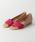 GAIMO(ガイモ)の「◆[ガイモ]gaimo CS FLT サンダル(サンダル)」|ピンク