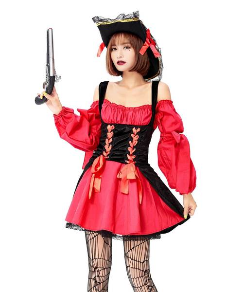 コスプレ・ハロウィン衣装/女海賊