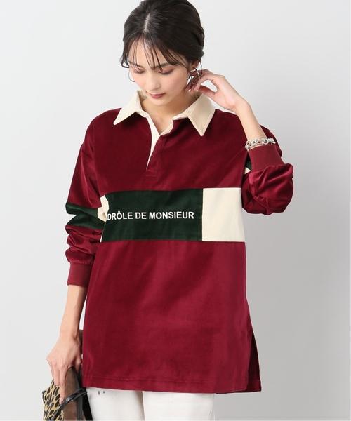 超話題新作 【DROLE DE MONSIEUR// ドロールドムッシュ】Velvet STANDARD Paneled ポロシャツ(ポロシャツ)|JOURNAL MONSIEUR STANDARD relume(ジャーナルスタンダード レリューム)のファッション通販, 上磯町:c01ce2d4 --- fahrservice-fischer.de