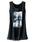 BELLUNA PLUS(ベルーナ)の「シフォン重ねロングタンクトップ(タンクトップ)」|ブラック