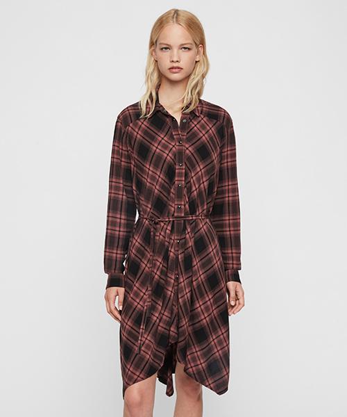 買い誠実 タラ チェック ドレス CHECK | TALA CHECK | チェック DRESS(シャツワンピース)|ALLSAINTS(オールセインツ)のファッション通販, くすりのイサミ:d3c3461a --- rise-of-the-knights.de