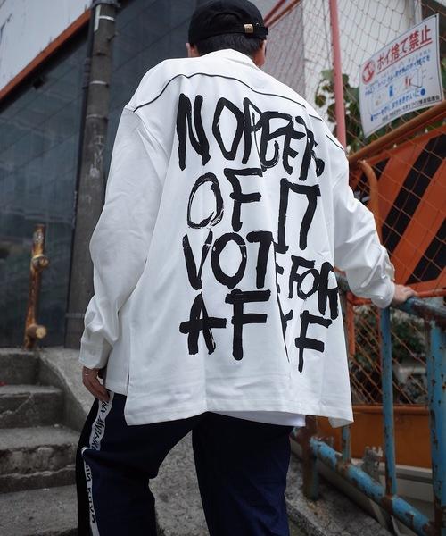 【超歓迎された】 【セール】AFYF OVERSIZE OPEN COLLAR OVERSIZE SHIRT COLLAR/オーバーサイズオープンカラーシャツ(シャツ OPEN/ブラウス) rovtski(ロフトスキー)のファッション通販, nanouniverse:02ec7fdc --- rise-of-the-knights.de